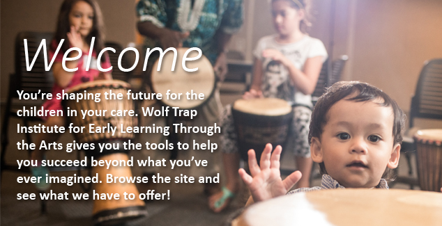 Banner for home page welcome screen