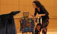 Katherine Lyons dramatizes a story with props